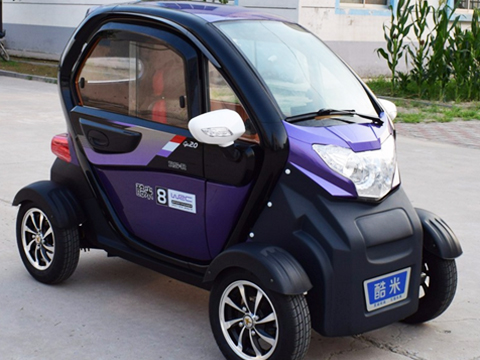 I 4 Wheel High Quality Mini Sightseeing Cars China Manufacture Low Sd Electric Vehicle